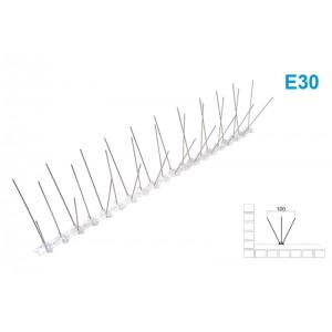 Kolce przeciw ptakom na gołębie 50cm 30 szpilek