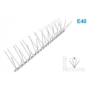 Kolce przeciw ptakom na gołębie 50cm 40 szpilek